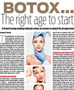 Botox the right age to start